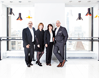 Corporate Headshots with DAS Insurance Team Toronto