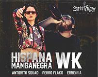 Street Fight Producciones - Mamba Negra Wk - Flyer