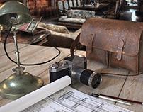 Artist's Desk -Materials studies