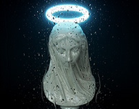Madonna - Giovanni Strazza's 'Veiled Virgin' revisited