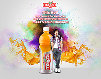 Maaza Holi game microsite for pitch