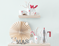 illy caffè - Holiday gift guide photo shoot