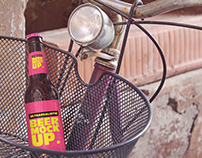 Bike Basket Beer Mockup