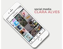 Social Media | Clara Alves