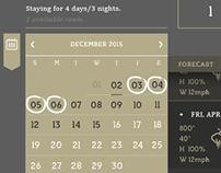 Calendar / Booking UI