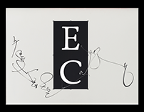 Expressive calligraphy