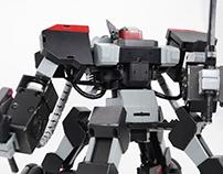 BLACK GANKER ROBOT
