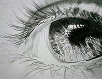 THE EYE | Pencil Sketch