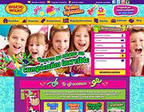 LANDING PAGE FIESTAS INFANTILES / Diseño Web