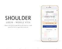 Novo Login Mobile - Shoulder