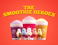 SMOOTHIE KING X STICKY MONSTER LAB