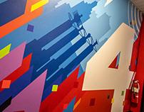 FOX 4 murals