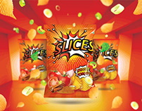 Slices Chips Branding