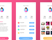 User App Design Animation