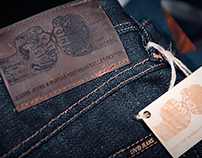 Livid Jeans & Dundas Footwear Collaboration logo