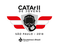 Logo ˝CATArII de Jovens˝ and visual identity