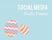 Studio Freeke | Social media