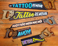 TATTOO REMOVAL • HANDPAINTED HANDSAWS