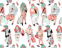 Étude de style (Motif) - Style study (pattern)