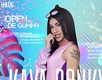 Flyer de Divulgação - Show Kaya Conky