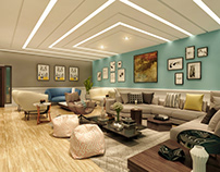 Title: Lounge Interior Location: Lahore
