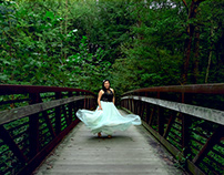Gowns in the Woods | Elizabeth