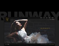 Runway website design