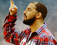 Drake Smudge Painting