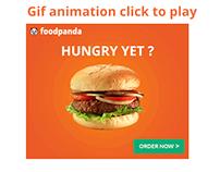 Food panda online ads