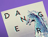Danger Horse - Promo Flyer