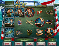 "Slot machine - ""Bombshell bombers"""