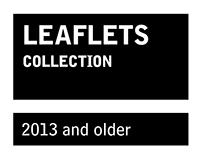 Leaflets and folders
