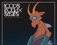"""""""CAPRICORN""""  Hoods zodiax series - personal project"""