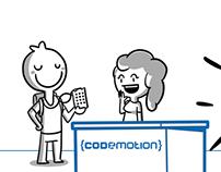 Codemotion's Comics Badge