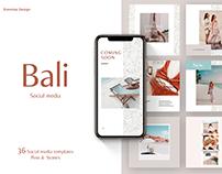 Bali | Social Media templates