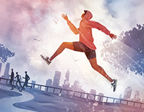 Runner's World Magazine: Finding Grace at a Slower Pace