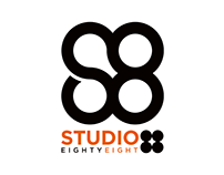 Studio 88 logo design