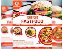 Fast Food & Restaurant Flyer