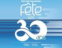 La west Surf Association a 30 ans !