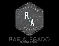 Rae Alegado Branding (Logo, Calling Card)