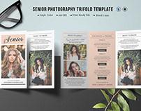 Senior Photography Brochure Template