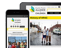 Hunts Point Alliance for Children Website