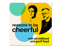 Reasons To Be Cheerful Podcast Artwork