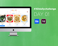 Daily Creative Challenge - Adobe XD Day#01