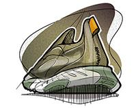 sneaker sketchbook