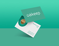 Oakeep - Logo and branding
