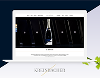 Kreinbacher Winery | Website Redesign