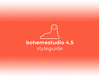 bohemestudio 4.5 - Styleguide