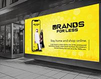 Brands for less logo redesign