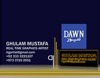 Dawn News Showreel